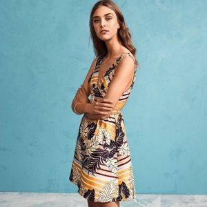 H&M Palm Leaves Dress